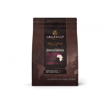 Chocolate Callebaut São Thomé 70% Amargo 2,5kg - Callebaut