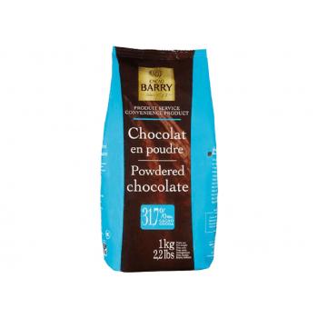 Chocolate em Pó 31,7% 1kg - Cacao Barry