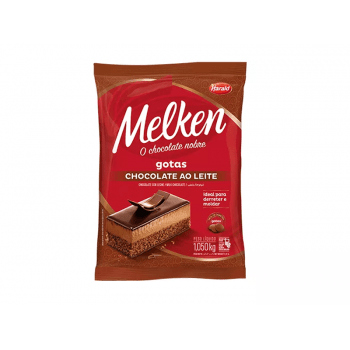 Chocolate Harald Melken  Gotas Leite 1,05Kg