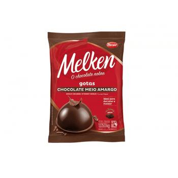 Chocolate Harald Melken Gotas Meio Amargo 1,05kg