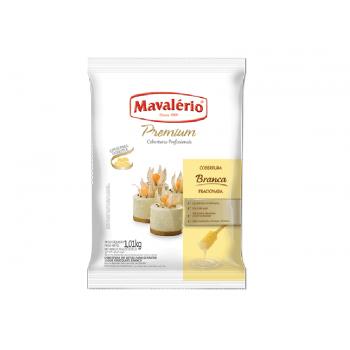 Cobertura Mavalério Premium Chocolate Branco Gotas 1,01kg