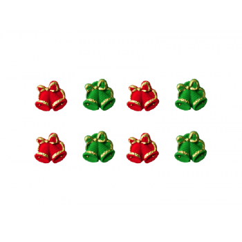 Biscuit Comestível Natal Sino - Jady Confeitos