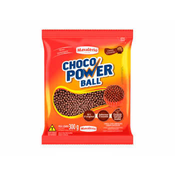 Choco Power Micro Ball Sabor Chocolate 300g - Mavalério