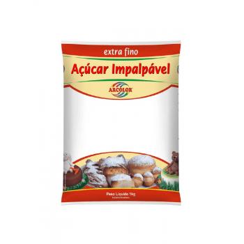 Açúcar Impalpável 1kg Arcolor