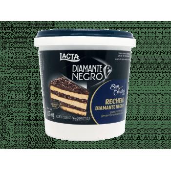 Recheio de Chocolate Laka Diamante Negro 1,05kg - Lacta