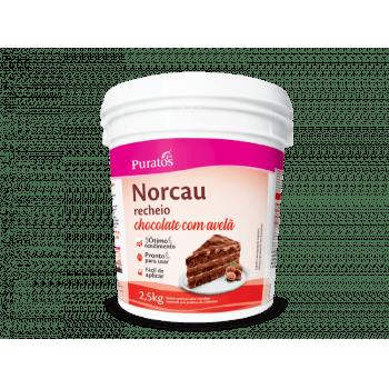 Recheio Norcau Chocolate Avelã 2,5kg - Puratos