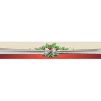 Faixa para Panetone c/ 5 unidades – Laço Natal