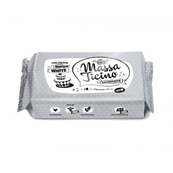 Pasta Americana - Massa Ticino Sugaspaste 250g - Branca