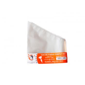 Saco de Confeitar Descartável Médio c/5 Unidades - Fases