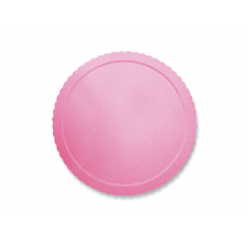 Disco Laminado para Bolos e Tortas Redondo 28cm – Rosa - Ultrafest