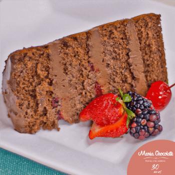 Curso Online Naked Cake de Chocolate
