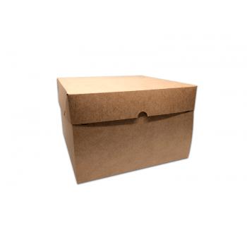 Caixa Kraft Bolo 25x25x16 cm - Agabox