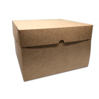 Caixa Kraft Bolo 29x29x16 cm - Agabox