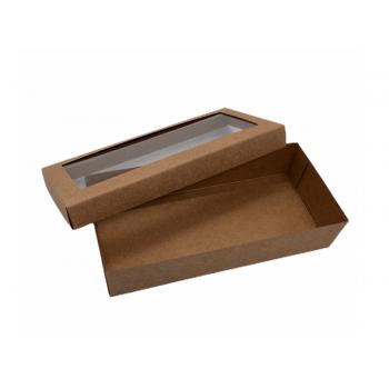 Caixa Kraft Visor 19x9x4 cm - Agabox
