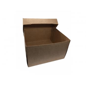 Caixa Kraft Bolo 25x25x10 cm - Agabox