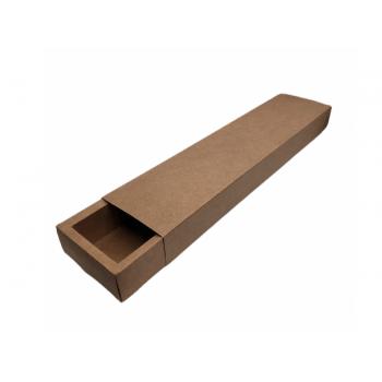 Caixa Kraft Gaveta Reta 39x9,5x4 cm - Cromus