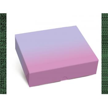 Caixa para Doces Degradê 17,5x13,5x4,5 cm - Cromus