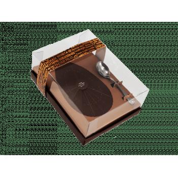 Caixa para Ovo de Colher 250g - Linha Classic Bronze - Ideia Embalagens