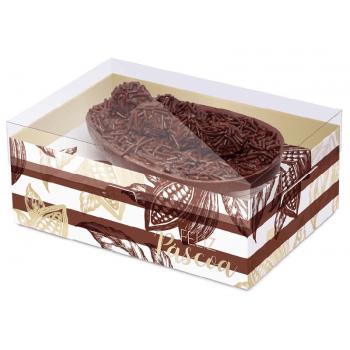 Caixa para Ovo de Colher 250g - Practice Ombrê Colorido - Cromus