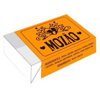 Caixa para 6 Doces 12x8x3,5 cm - Mozão