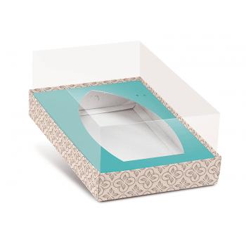 Caixa para Barca de Chocolate M 13,5x10x7 cm - Chocolatier - Cromus