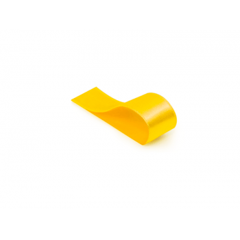 Fita de Cetim Lisa Amarela 15 mm – Cromus