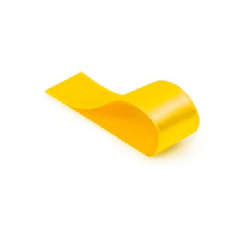 Fita de Cetim Lisa Amarela 21,5 mm – Cromus