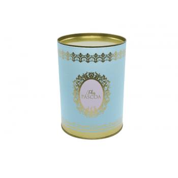 Lata Decorada Feliz Páscoa Azul - Royalle - Cromus