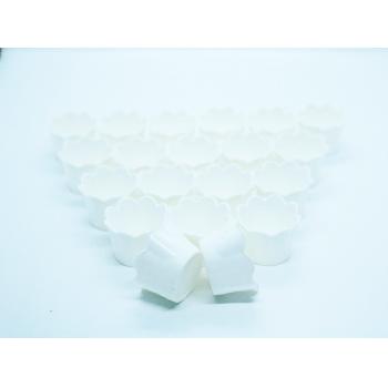 Cachepot Girassol Micro Branco c/20 unidades– Lsc Toys