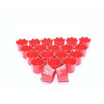 Cachepot Girassol Micro Vermelho c/20 unidades– Lsc Toys