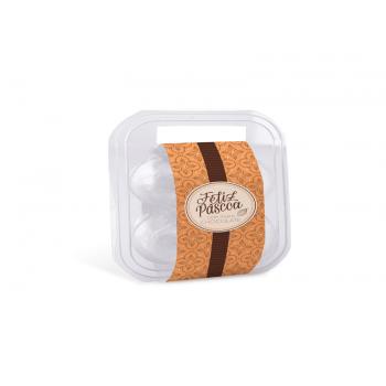 Maleta com Cinta para 4 ovos c/ 10 - Chocolatier - Cromus