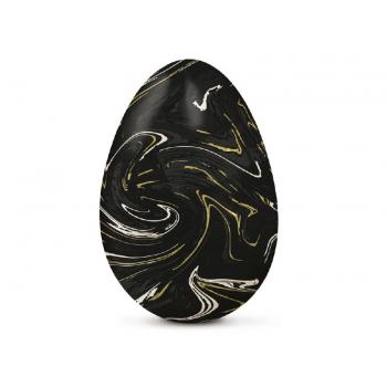 Papel Chumbo Preto Marmorizado 43,5x58,5 cm c/ 5 Folhas - Cromus