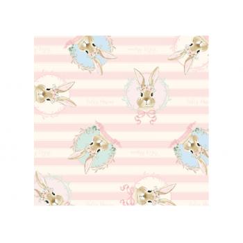 Papel Poli 69x89 cm c/ 25 unidades - Coelha Bella Rosa - Cromus