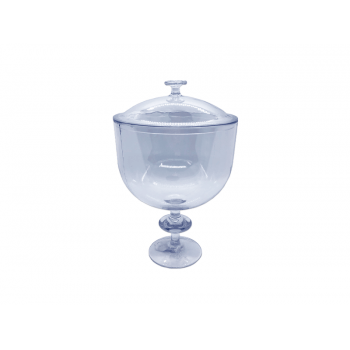 Taça Americana Cristal 1,25L c/ Tampa - Lsc Toys