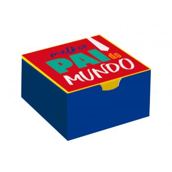 Caixa para Doces Dia dos Pais 8,5x8,5x3,5 cm – Cromus