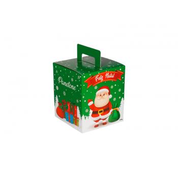 Caixa para Panetone 100g Feliz Natal  – Decora Doces