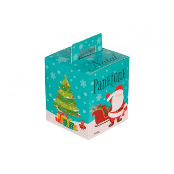 Caixa para Panetone 100 g Tiffany – Decora Doces