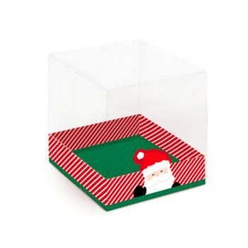 Caixa para Panetone de Acetato Noel  500g - Cromus