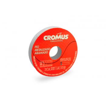 Fio Metalizado Ouro 2,0 cm x 10,0 m- Cromus