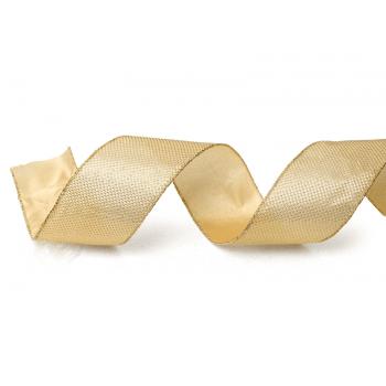Fita de Nylon Aramada lisa Ouro 9,14M – Cromus