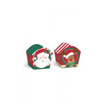 Forminha de Papel Natal Noite Feliz c/24 unidades - Cromus