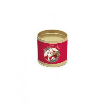 Lata Decorada Natal Sortida 18x16,5 cm - Cromus