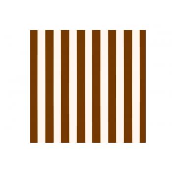 Papel Metalizado para Ovo de Páscoa Marfim 69x89 cm c/ 5 unidades – Listras - Cromus