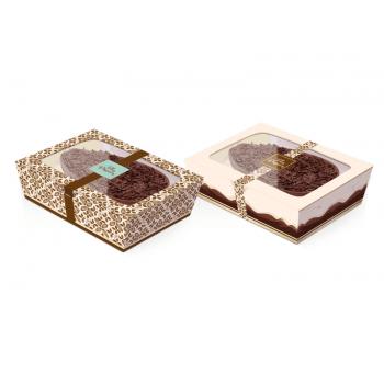 Caixa para Ovo de Colher 250g com 1 unidade - Marfim - Cromus