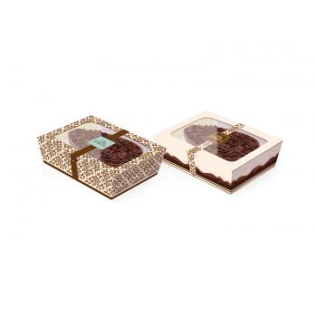 Caixa para Ovo de Colher 350g com 1 unidade  - Marfim - Cromus