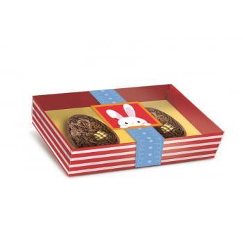 Caixa para Ovo de Colher 50g 2 meio Ovos - Adoleta - Cromus