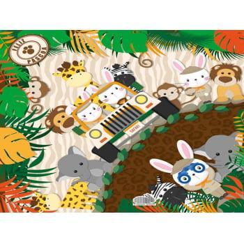 Embalagem Express para Ovo de Páscoa 32x32 cm c/5 – Aventura na Selva – Cromus