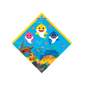 Embalagem Express para Ovo de Páscoa 35x35 cm c/ 5 unidades – Baby Shark -Cromus