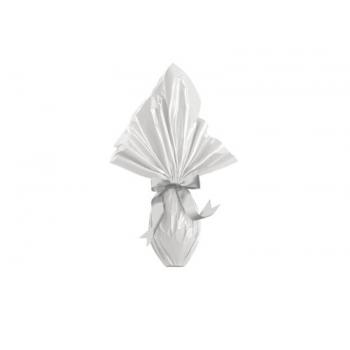 Embalagem Express para Ovo de Páscoa 35x35 cm c/ 5 unidades - Branco - Cromus