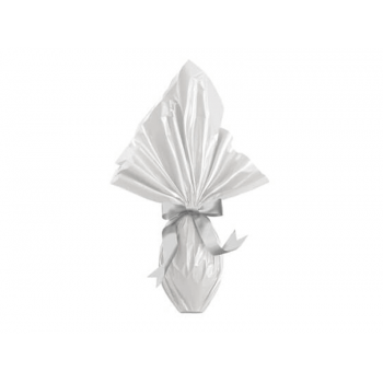 Embalagem Express para Ovo de Páscoa 39x39 cm c/ 5 unidades - Branco - Cromus
